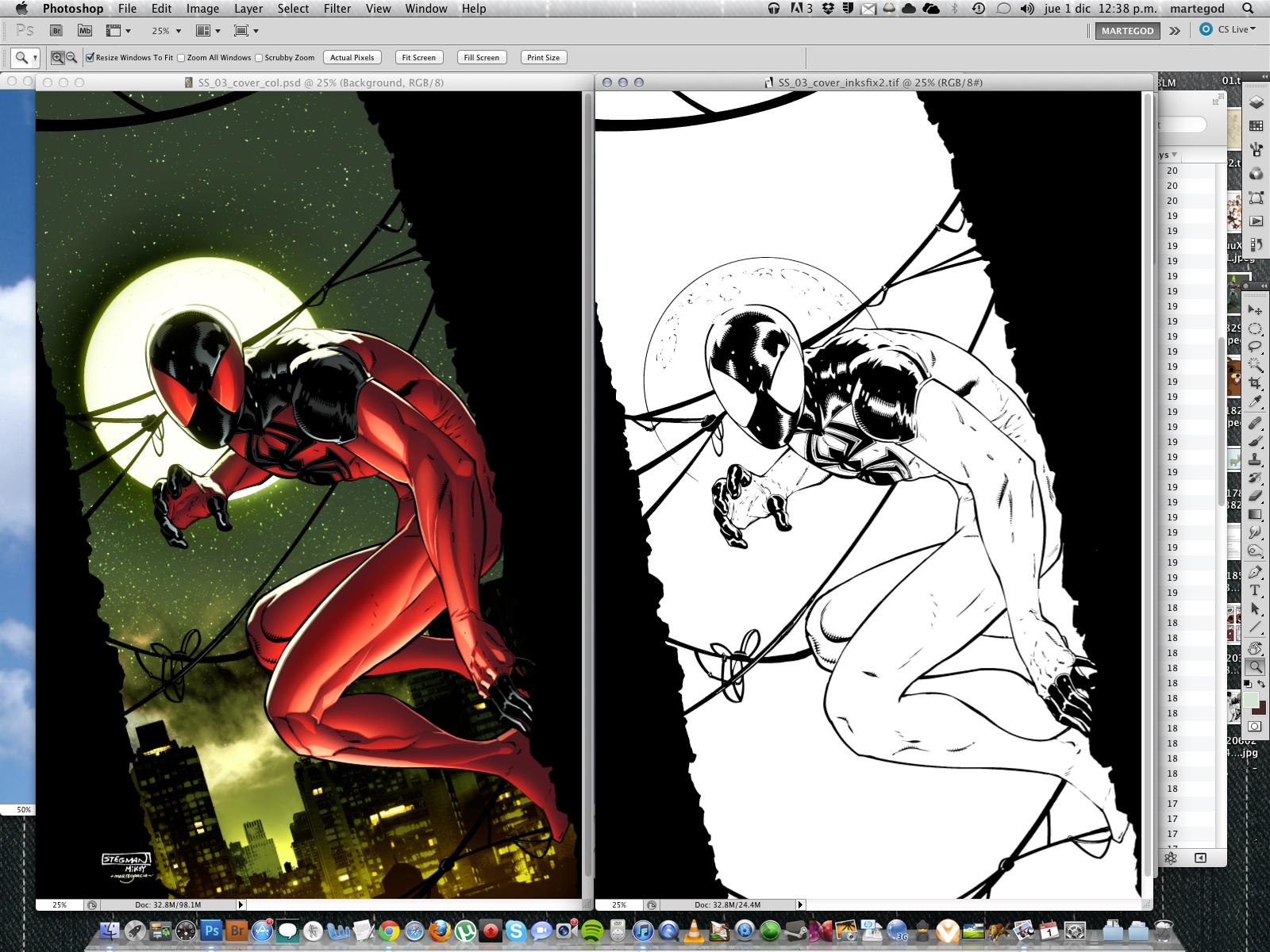 Marvel 2012 Scarlet Spider 03 Cover by MarteGracia