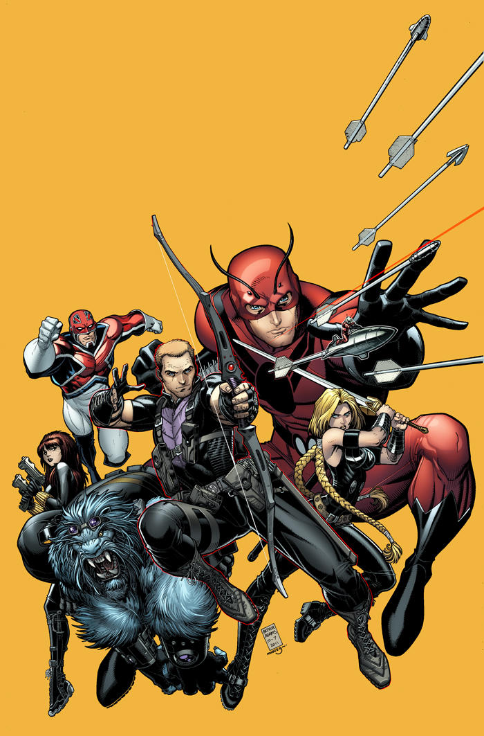 Secret Avengers Cover by Arthur Adams.