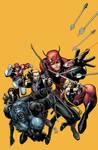 Secret Avengers Cover by Arthur Adams.