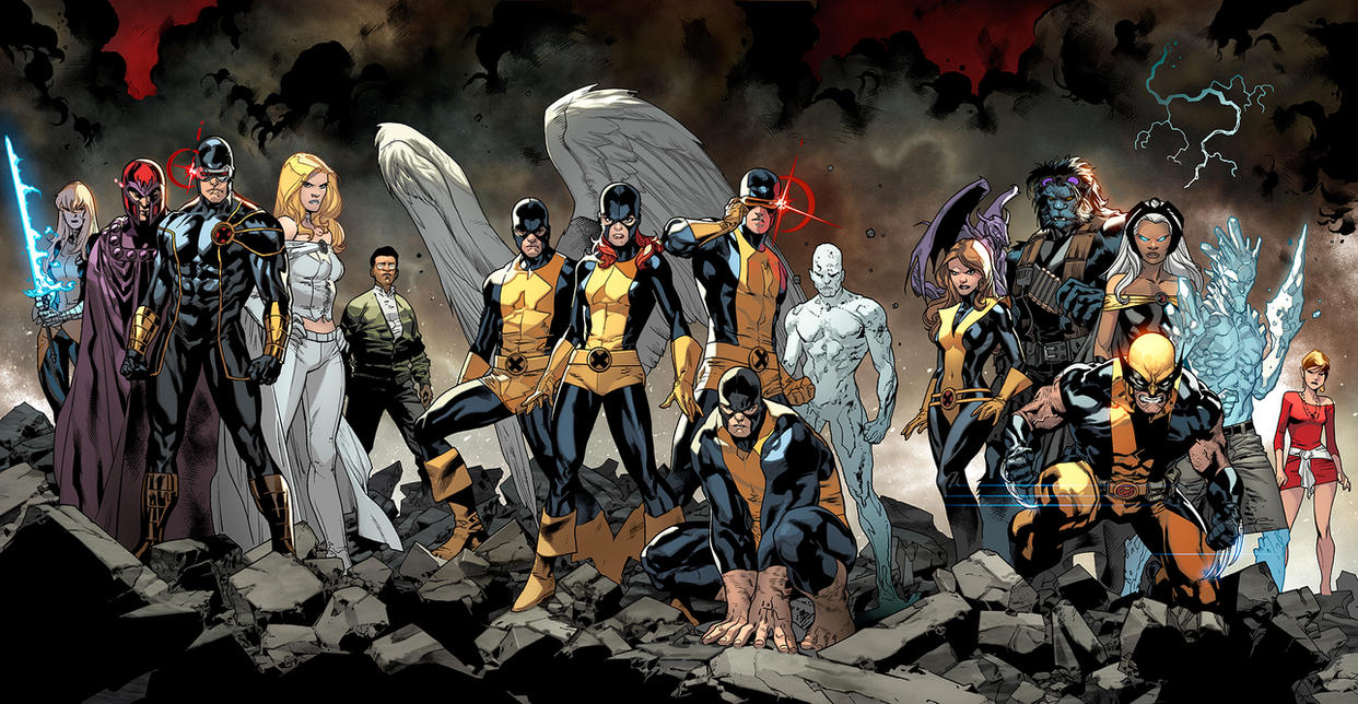 All New XMEN 01 and 02 COVER. by MarteGracia
