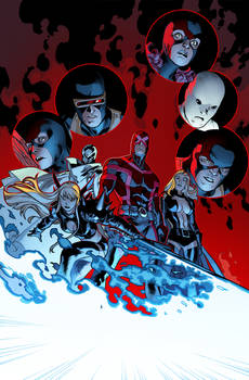 All New XMEN 10 COVER.