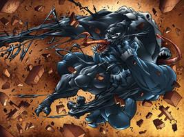 Venom vs Venom by MarteGracia