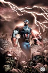 Captain Amerika. by MarteGracia