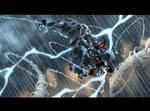 Venom+Spidey+Thunderbolt