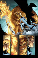 Fantastik Four on Venom. by MarteGracia