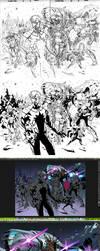 Guardians PROCESS! by MarteGracia