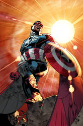 ALL NEW CAPTAIN AMERICA!