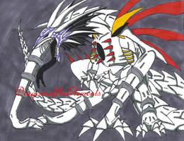 Berserker Hollow by XenomorphicDragon