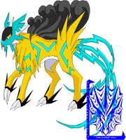 .:Fakemon Ryuci:. by XenomorphicDragon