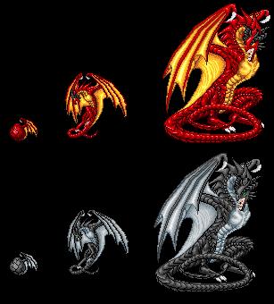 .:Vasaeken Dragons:. by XenomorphicDragon