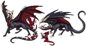.:Commission--Dragon Cave Black Marrows:.
