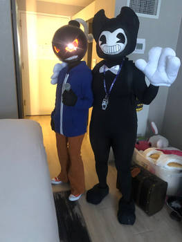 .:Galaxycon 2021 Whitty and Bendy:.