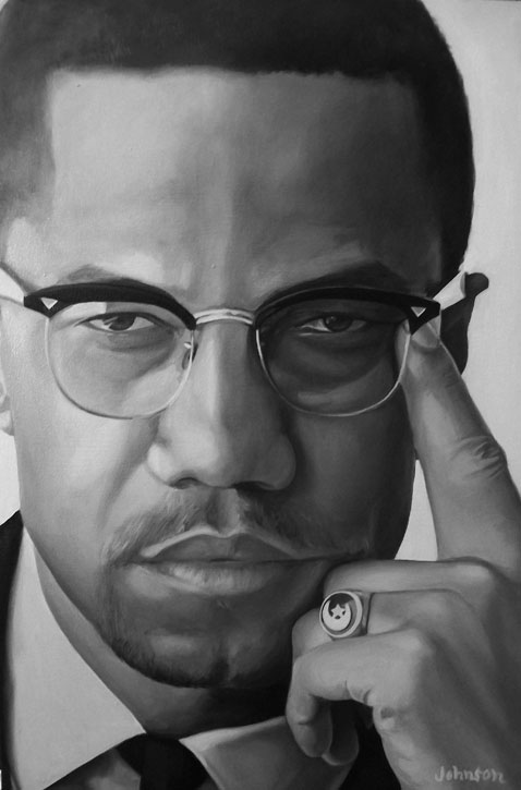 Malcolm X by Ajda0123