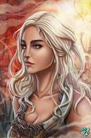 Daenerys Targaryen by EdgarSandoval