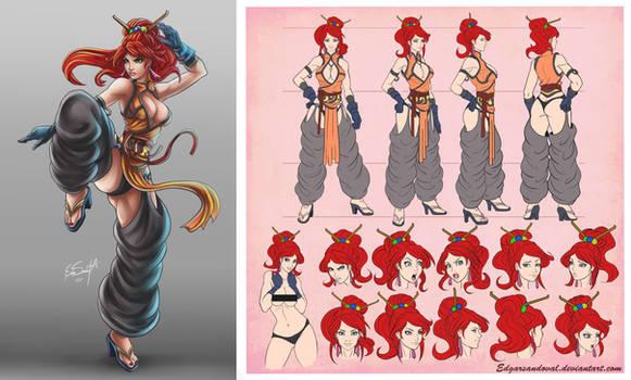 Bocetos challenge character