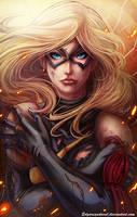 Miss Marvel by EdgarSandoval