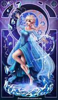 Elsa Frozen by EdgarSandoval