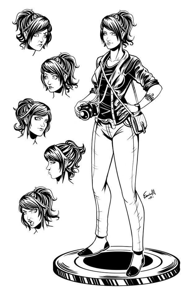 Comic Book Character Design : Character design lucid comic book by edgarsandoval on