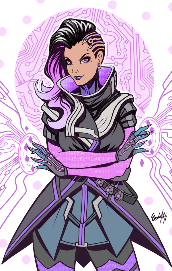 Sketch Sombra By Edgarsandoval On Deviantart