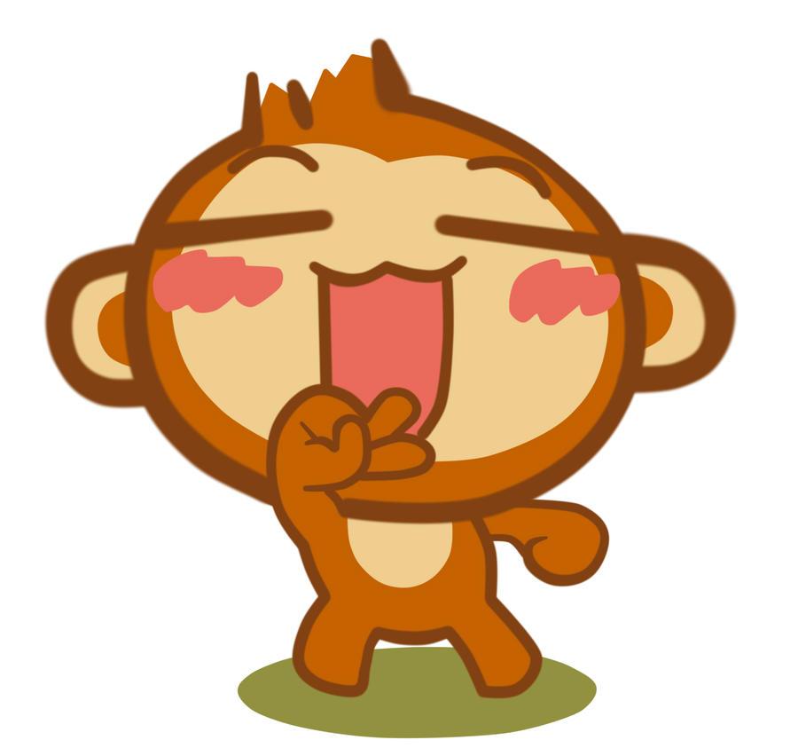 QQ monkey by tcwoua on DeviantArt
