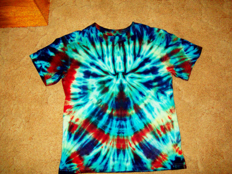 Psychedelic tie dye shirt by returningdragon on deviantart for Making a tie dye shirt