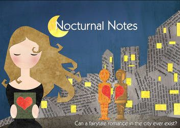 Nocturnal Notes Poster by azurelorica