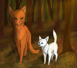 Fireheart and Cloudpaw