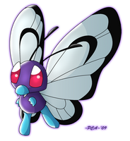 + Butterfree -012 + by PokeChibiArtist98