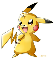 + Pikachu -025 + by PokeChibiArtist98