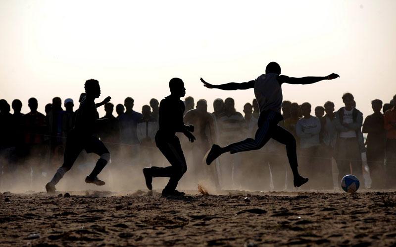 libya-tunis border by abdullahcoskun