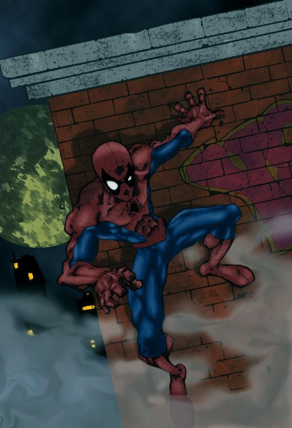 Spider, spider, burning bright by bisiobisio