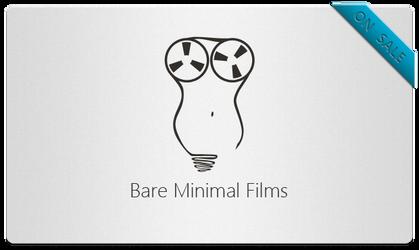 Bare Minimal Films Logo by bisiobisio