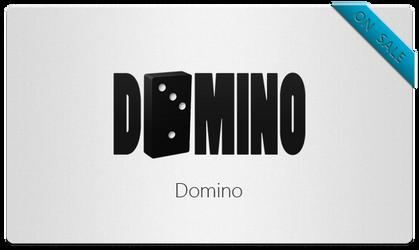 Domino Logo by bisiobisio