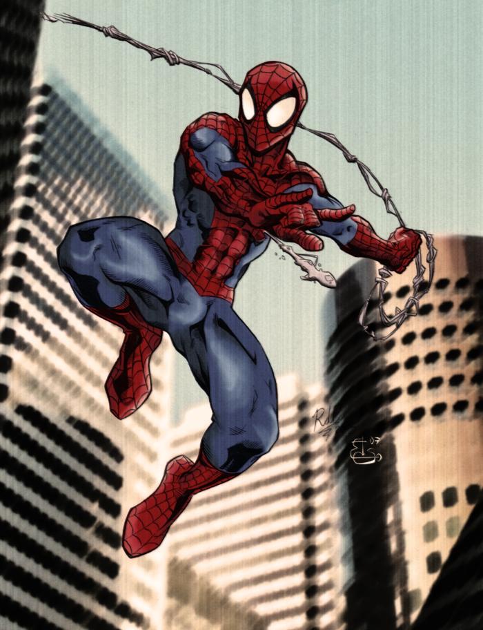 Spiderman Vintage By Bisiobisio On DeviantArt