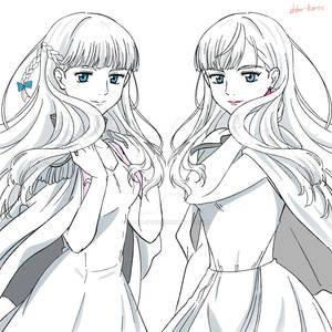 Relena and Gigi