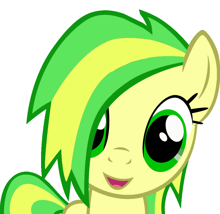 Glaze Smiling at screen [Vector] by SunflowerTwix