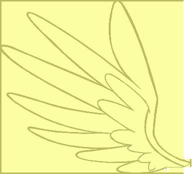Glaze - Open Wing Vector by SunflowerTwix