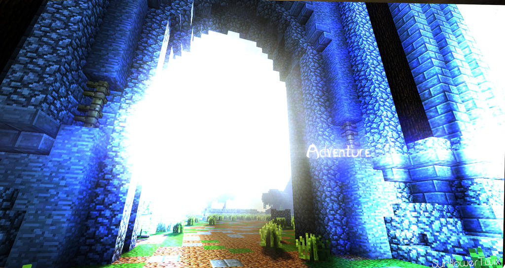 [Minecraft] 'Adventure'        (No Hud) by SunflowerTwix