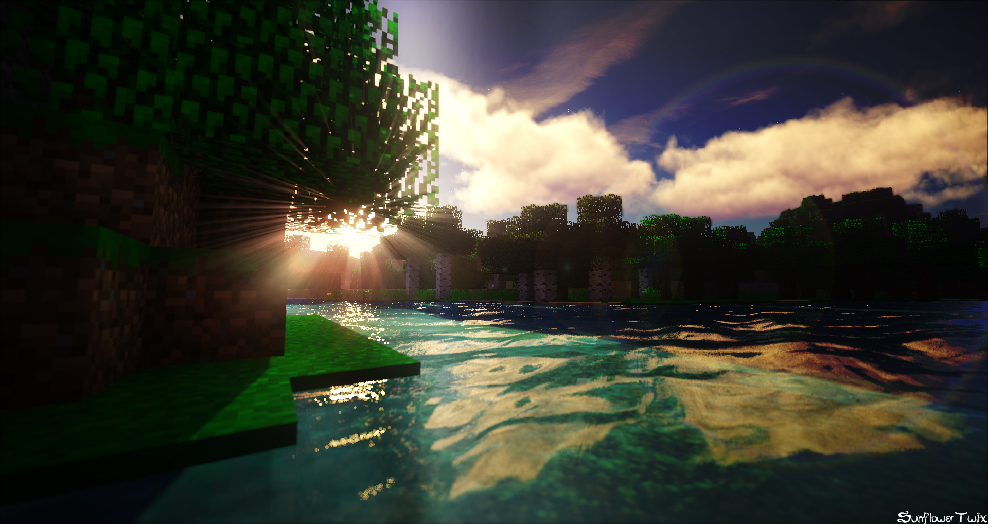 [Minecraft] 'Afternoon Lake' by SunflowerTwix