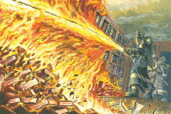 Fahrenheit 451 by discogangsta