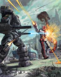 Warhammer by discogangsta