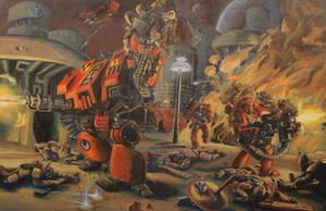 Raging Titan by discogangsta