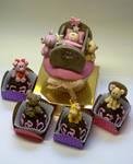 cupcake and truffles