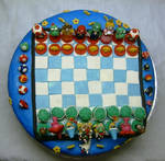 Super mario - chess-  cake1