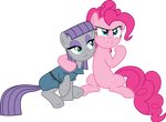 Pinkie Pie and Maud Pie Vector