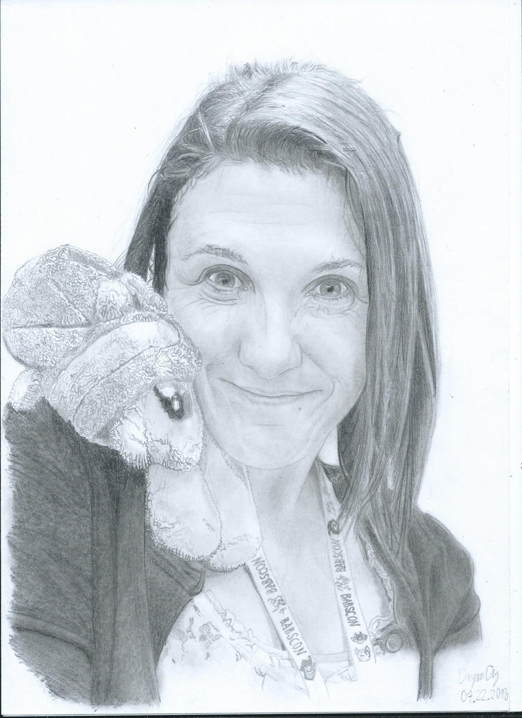 Portrait Kelly Sheridan by DeyrasD