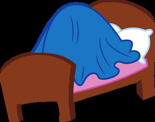 [RQ] Twilight Sparkle under blue blanket by DeyrasD
