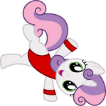 [RQ] Sweetie Belle in Her Fitness Outfit