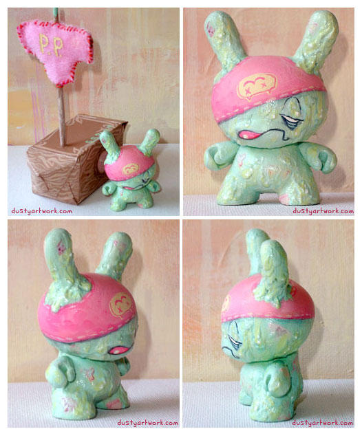 Panty Pirate Dunny by teaspoons