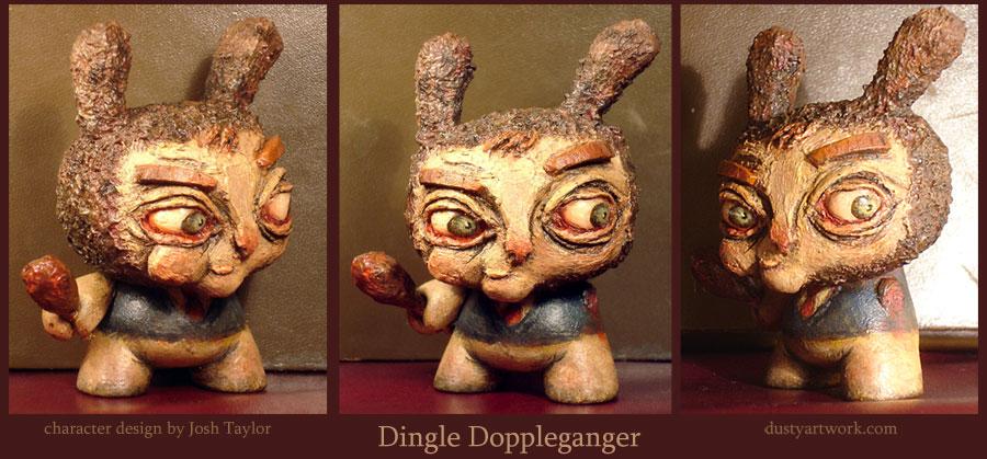 Dingle Doppleganger Dunny by teaspoons